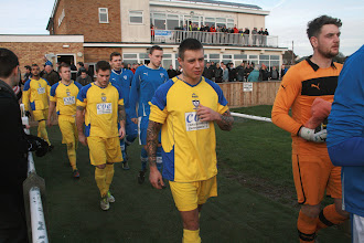 Photo: 26/01/13 v Whitley Bay (FA Vase Round 4) 1-0aet - contributed by Martin Wray