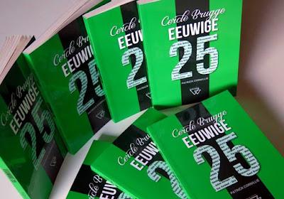 WEDSTRIJD: 'De Eeuwige 25 van Cercle Brugge' van auteur Patrick Cornillie
