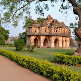Lotus Mahal by Vijayendra Venkatesh - Buildings & Architecture Statues & Monuments