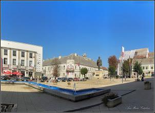 Photo: Turda - Piata Republicii - fantana arteziana  - 2018.08.14
