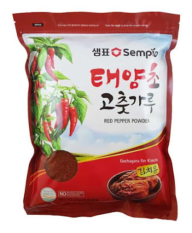 Red Pepper Powder (Gochugaru for Kimchi) 1 kg Sempio