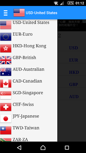 Globe Currency, Exchange Rate
