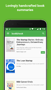 bookbhook book summary reading app- screenshot thumbnail