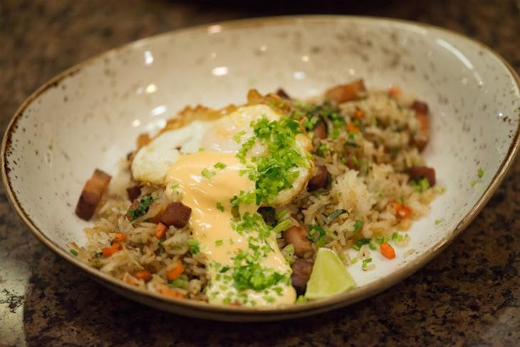 Pork Belly Fried Rice Chicharron Recipe
