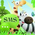 Animali Theme GO SMS Pro icon