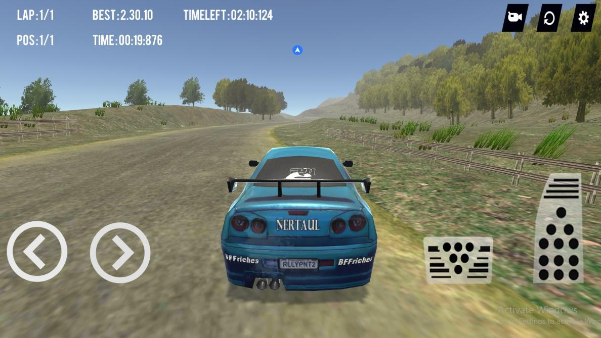 Super Car Rally 3D- screenshot