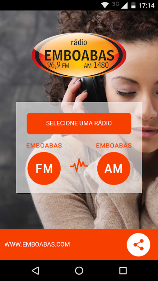 Rádio Emboabas- screenshot
