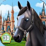 Magic Horse Simulator 3D Icon