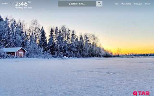 Frozen Lake Wallpapers HD Theme
