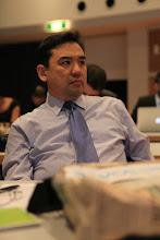 Photo: Nurzhan listening attentively