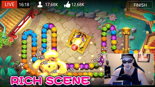 marble dash: epic bubble shooter legend game 2020 screenshot 3