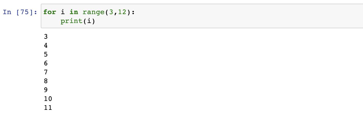 Range() in Python