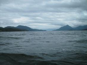 Photo: Looking north up Fitz Hugh Sound.