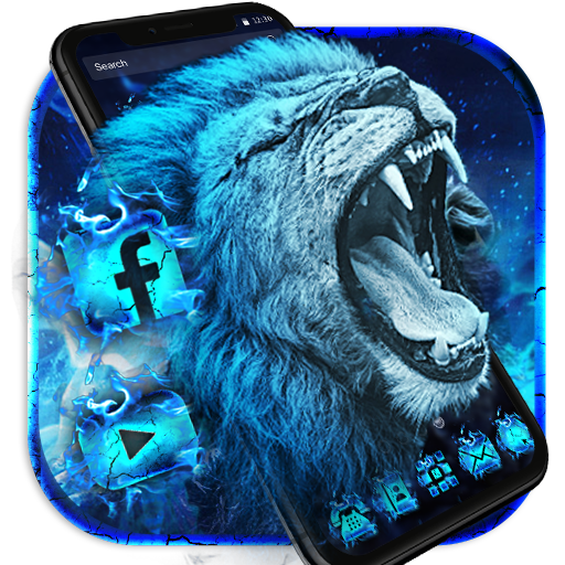 Flaming Wild Lion Themes Live Wallpapers Apps On Google Play