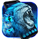 Flaming Wild Lion Themes Live Wallpapers