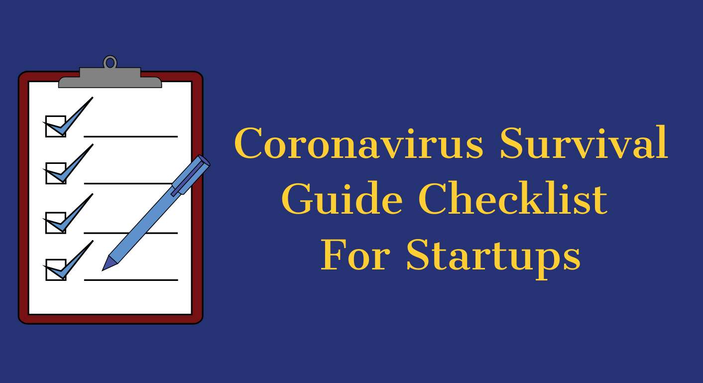 Surviving Coronavirus: A Guide For Startup