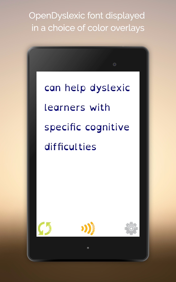 Easy Dyslexia & Dysgraphia Aid- screenshot