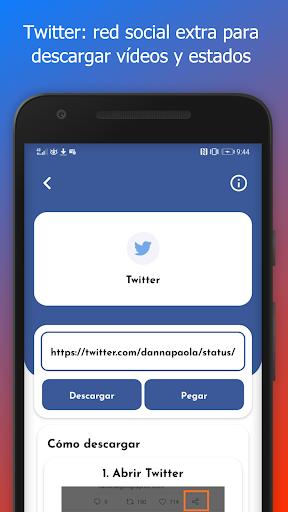 Bajar Vu00eddeos de Facebook y Redes Sociales 1.3.0 screenshots 7