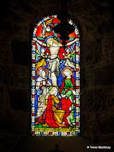 Photo: Stained Glass, Drum Castle Chapel