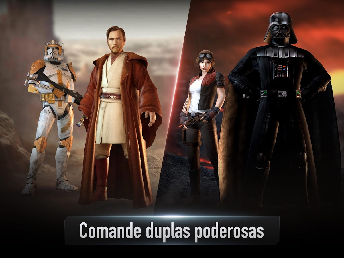 Star Wars™: Force Arena: captura de tela