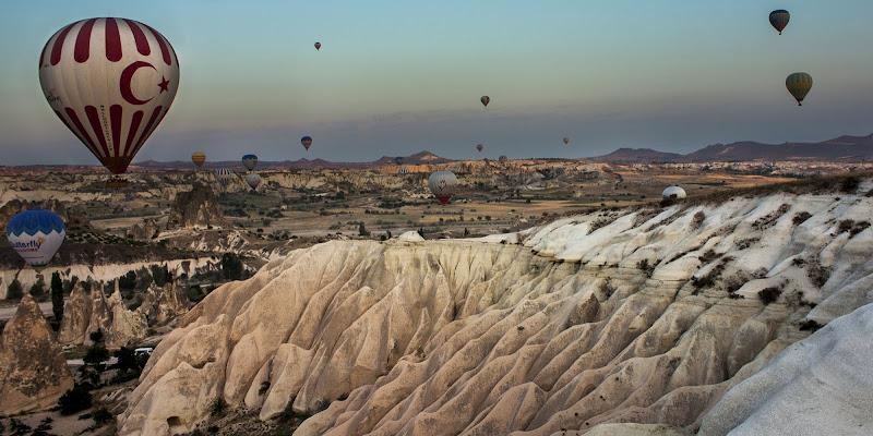 Viaggio in mongolfiera di Simone Sartorelli