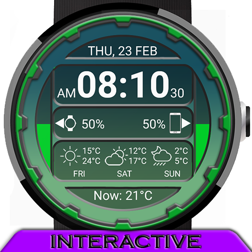 Grid Watch Face