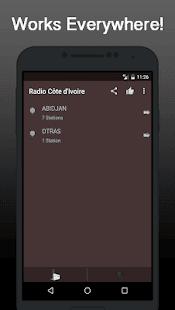 Radio Online Cote d Ivoire - náhled