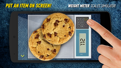 Weight Meter. Scales Simulator