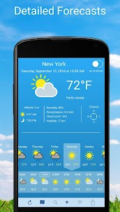 Weather 2 weeks v6.0.9 [Unlocked] [Mod] 1