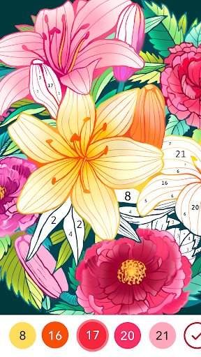 Coloren - Color by Number & Puzzle Games apkpoly screenshots 5