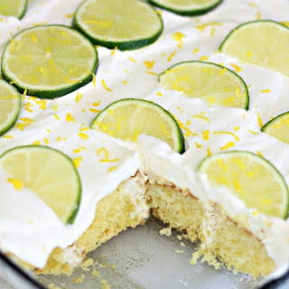 Margarita Poke Cake Recipe