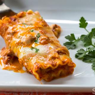 Skillet Lasagna Rolls