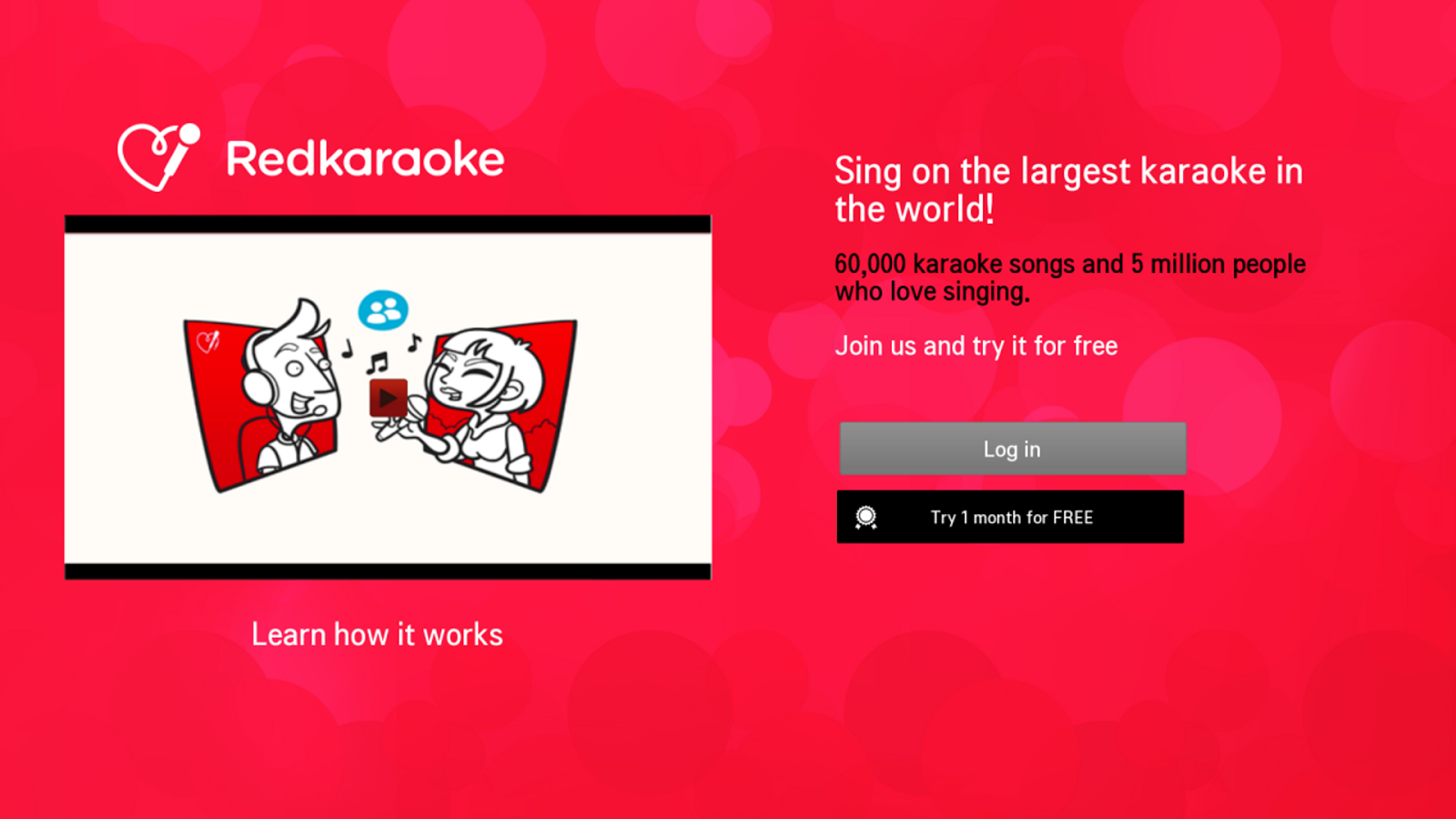 Red karaoke app android