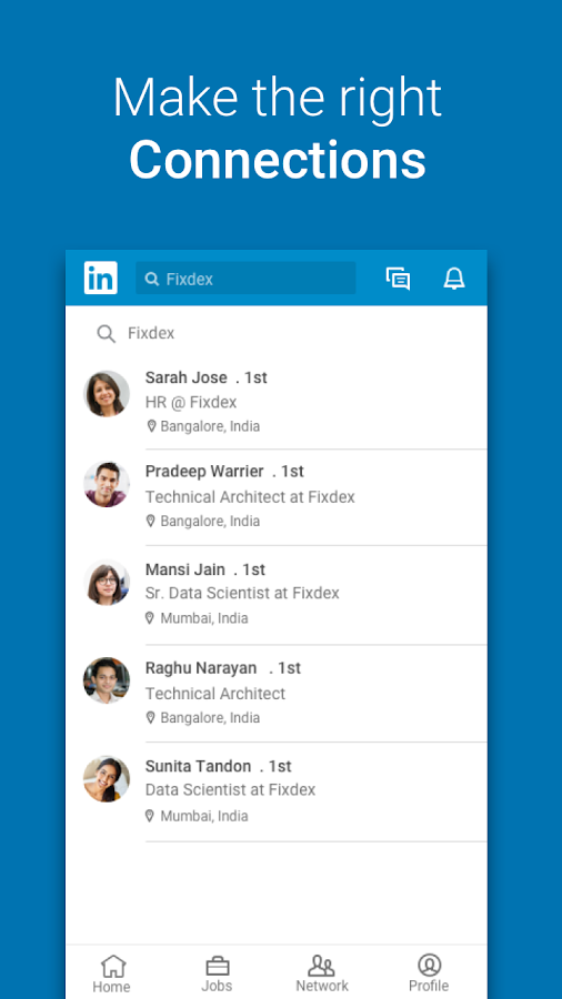 LinkedIn Lite: 1 MB Only. Jobs, Contacts, News- screenshot