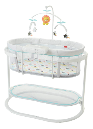 Fisher-Price Soothing Motions Bassinet, the overall best rocking bassinet in the market