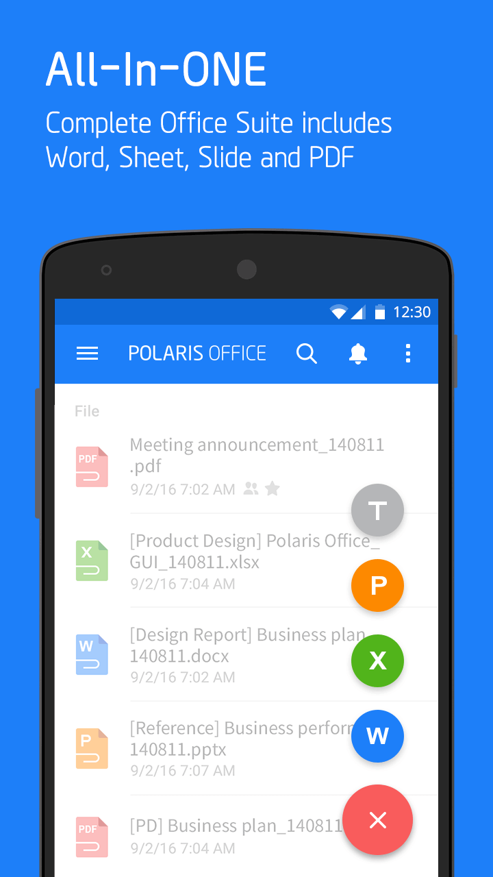 Polaris Office + PDF screenshot #1