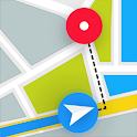 Gps Navigate, Voice Navigation & Maps Traffic Go icon
