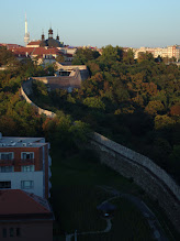 Photo: View from Vyšehrad.