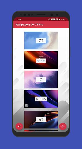 Wallpapers One 7T Pro 7.4 screenshots 1