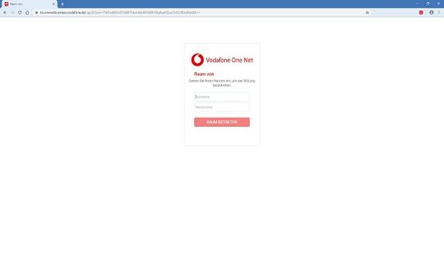 Vodafone One Net Gast-Client-Erweiterung