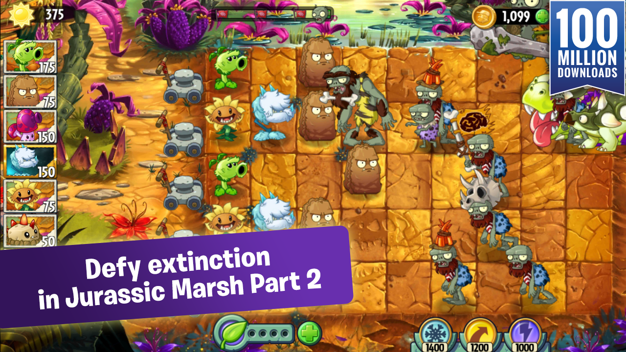 Download Game Plants vs Zombies 2 Mod APK For Android