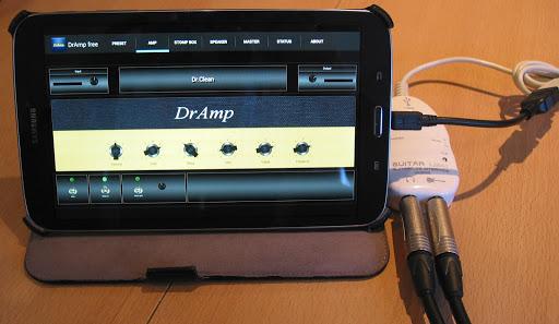 DrAmpFree - USB Guitar Amp 1.56 screenshots 2