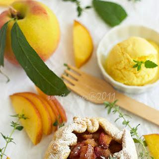 Galette sa breskvama/Peach galette
