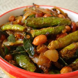 Dondakaya Verusenaga Pappu Vepudu ~ Ivy Gourd Peanut Stir Fry Recipe