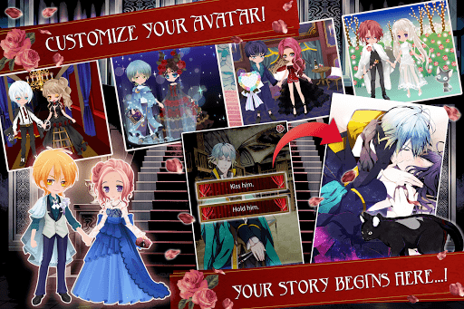 Blood in Roses - otome game/dating sim 1.7.3 screenshots 16
