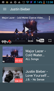 Justin Bieber Video Songs lyrics App FREE - náhled