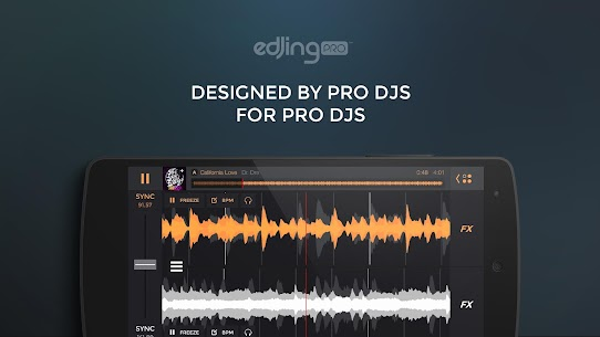 edjing PRO – Music DJ mixer APK 1