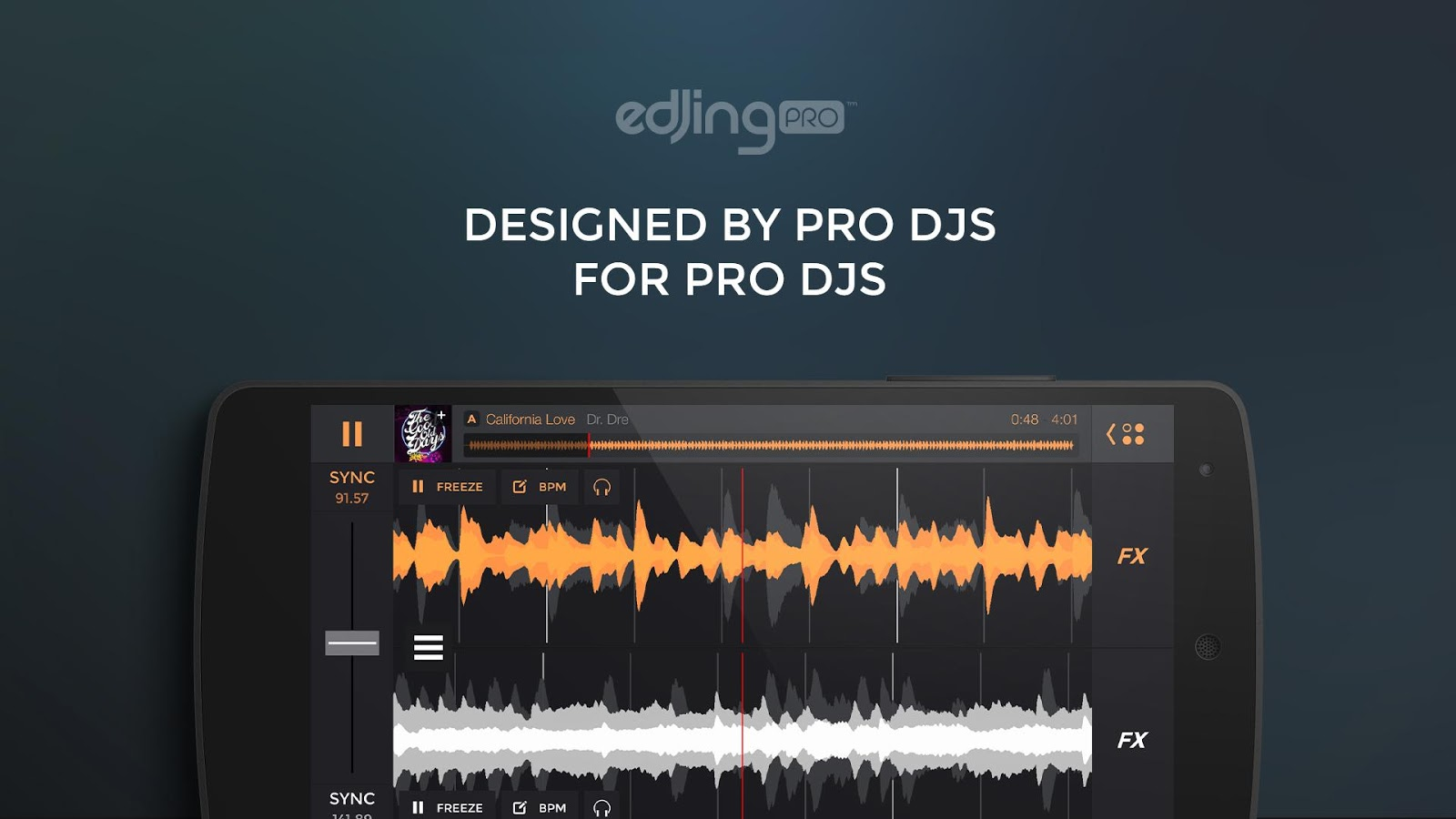 edjing PRO - Music DJ mixer- screenshot