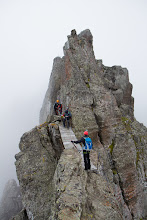 Photo: Via ferrata Trincé, which goes over the Padon edge, Northern Italy.
