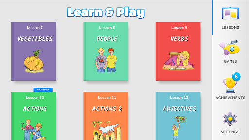 English for Kids: Learn & Play 3.3 screenshots 1